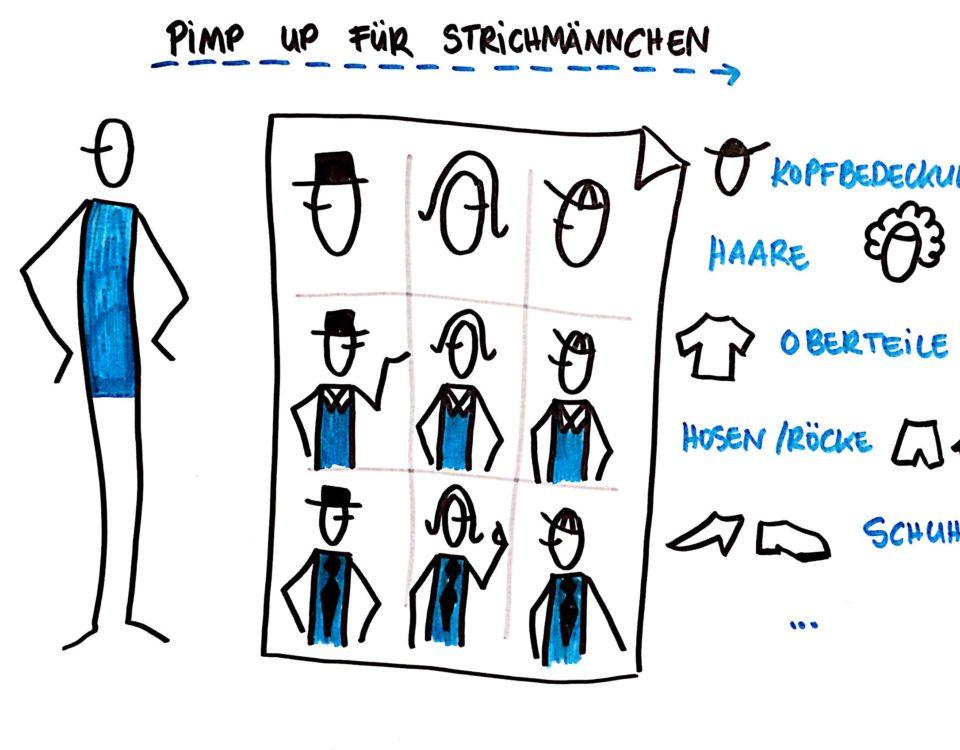 Pimp Up Strichmännchen