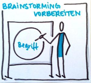 Symbol-Safari: Brainstorming vorbereiten